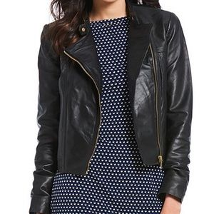 Michael Kors Leather Jacket L